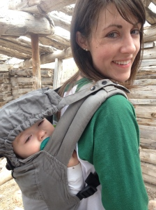 The Boba carrier made taking a 10-month-old on a hike in Colorado possible!